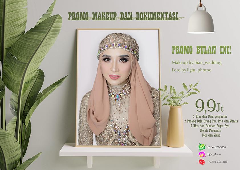 promo makeup dan foto 2021